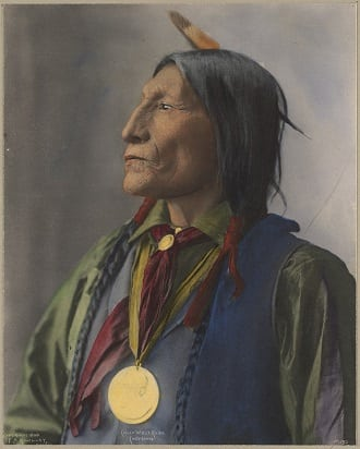Cheyenne Chief Wolf Robe