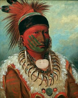 1f4a59f66 NATIVE AMERICAN INDIAN WAR PAINT FACTS