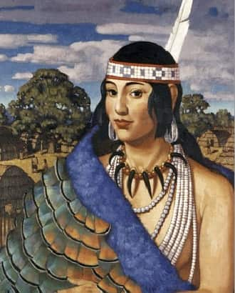a report on the life of the algonquian indian princess pocahontas Pocahontas (c 1596-c 21 mar 1617), virginia algonquian princess and a key mediating figure in anglo-indian relations in the jamestown colony, also known as matoaka or amonute, was the daughter of powhatan, paramount chief.