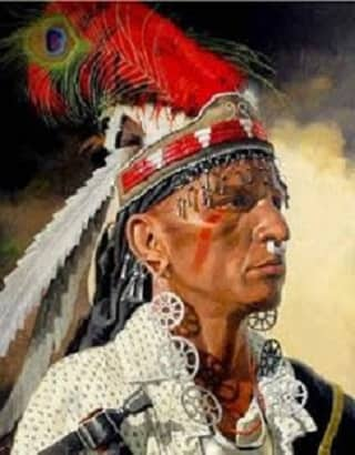 Shawnee American Indian Man