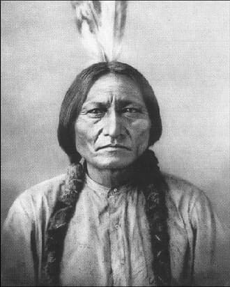 Sioux Indian Chief Sitting Bull