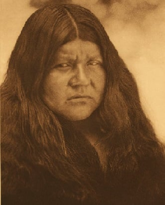 Wappo American Indian Woman